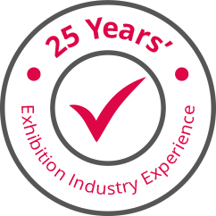 Red 4 Exhibitions - 25 Years of Exhibition Industry Experience